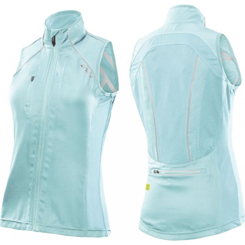 2XU Ladies Vapor Glass Blue Mesh Cycle Vest - Size XS WC2455A-GLB-XS e28cd0979