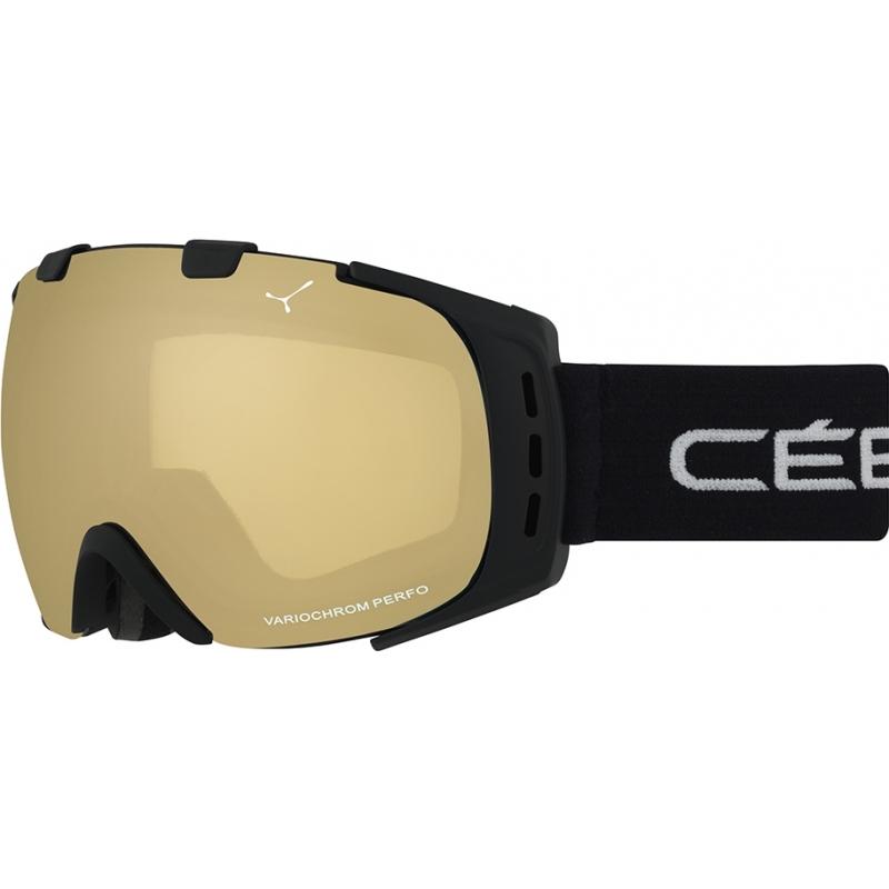 Cebe CBG85 Origins L Black Block - NXT Variochrom Perfo 1-3 Ski Goggles