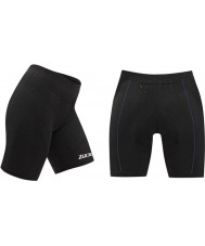 Zone3 Z14181 Ladies Aquaflo Black Tri Shorts - Size S