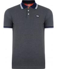 Dare2b DMT318-R3960-M Mens Under Rule Grey Marl Polo Shirt - Size M