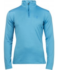 Protest Mens Willowy Electric Blue Zip Top