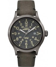 Timex TW4B01700 Mens Expedition Analog Elevated Brown Watch