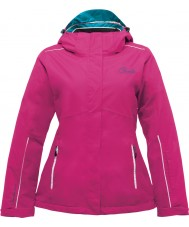 Dare2b DWP321-1Z006L Ladies Likewise Electric Pink Ski Jacket - Size 6