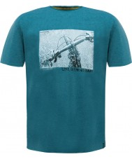 Dare2b DMT320-0D650-S Mens Behind Bars Ocean Depths Marl T-Shirt - Size S