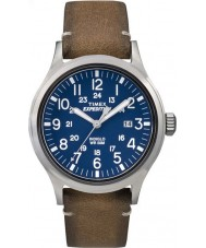Timex TW4B01800 Mens Expedition Analog Elevated Tan Leather Strap Watch