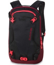 Dakine 10000235-BLACK-OS Ladies Heli Pack Black Backpack - 12L