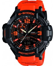 Casio GA-1000-4AER Mens G-Shock Twin Sensor Neon-Illuminator Watch