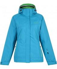Dare2b DWP323-1WI06L Ladies Energize Freshwater Blue Ski Jacket - Size 6