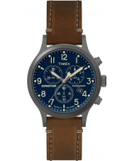 Timex TW4B09000 Mens Expedition Brown Leather Strap Watch