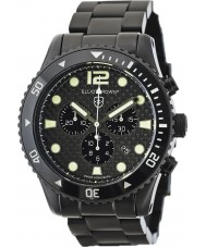 Elliot Brown 929-002-B03 Mens Bloxworth Black Carbon-Fibre Chronograph Watch