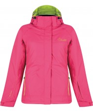 Dare2b Ladies Energize Electric Pink Ski Jacket