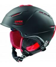 Uvex 5661562307 P1us Pro Black Red Ski Helmet - 59-62cm