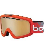 Bolle 21464 Nova II Matte Red Gradient - Modulator Citrus Gun Ski Goggles
