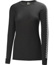 Helly Hansen Ladies Dry Original Black Baselayer