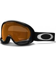 Oakley 59-633 A-Frame 2.0 Jet Black - Persimmon Ski Goggles