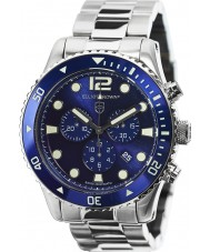 Elliot Brown 929-003-B01 Mens Bloxworth Silver Steel Chronograph Watch
