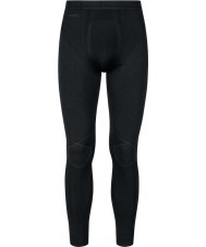 Odlo Mens Evolution Black Graphite Grey Baselayer Pants
