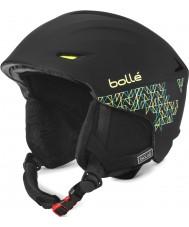 Bolle 30780 Sharp Soft Black Mosaic Ski Helmet - 54-58cm