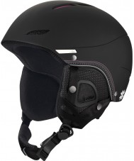 Bolle 30968 Juliet Soft Black Nordic Ski Helmet - 52-54cm