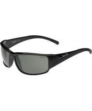 Bolle Keelback Shiny Black Polarized TNS Sunglasses