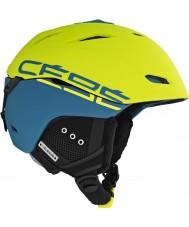 Cebe CBH10 Atmosphere Deluxe Yellow Green Ski Helmet - 52-55cm