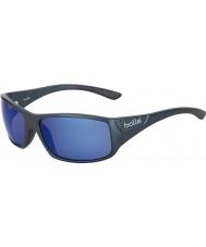 Bolle Kingsnake Matt Blue Polarized Offshore Blue Sunglasses