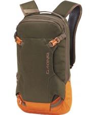 Dakine 10001470-TIMBER-81X Heli Pack 12L Backpack