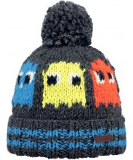 Barts 3002419 Kids Tibbs Dark Grey Heather Beanie - 4 years