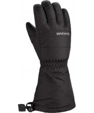 Dakine 1300270-BLACK-K-M Boys Yukon Black Gloves - 6-8 years