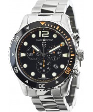 Elliot Brown 929-005-B01 Mens Bloxworth Silver Steel Chronograph Watch