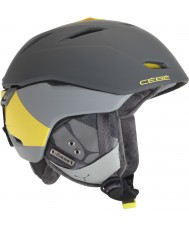 Cebe CBH78 Atmosphere Deluxe Grey Yellow Ski Helmet - 52-55cm