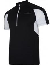 Dare2b DMT136-80040-XS Mens Commove Black Jersey T-Shirt - Size XS
