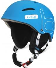 Bolle 30803 B-Style Soft Blue Ski Helmet - 58-61cm