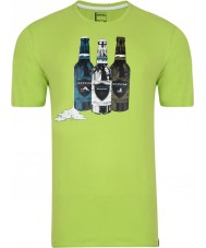 Dare2b Mens Bottle Lime Green T-Shirt