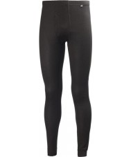 Helly Hansen 48900-990BLA-XL Mens Dry Fly Black Pant Baselayer - Size XL