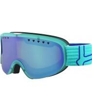 Bolle 21474 Scarlett Matte Turquoise and Blue - Modulator Vermillon Blue Ski Goggles