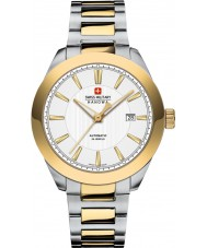 Swiss Military 5-5185-7-55-001 Mens Pegasus Two Tone Automatic Watch
