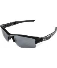 Oakley 03-915 Flak Jacket XLJ Jet Black - Black Iridium Sunglasses