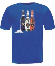 Dare2b DMT323-9PR50-S Mens Bottle Skydiver Blue T-Shirt - Size S