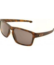 Oakley OO9262-03 Sliver Matte Brown Tortoiseshell - Warm Grey Sunglasses