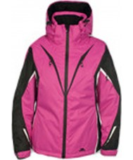 Trespass FAJKSKH20034-XS Ladies Astana Magenta Jacket - Size XS