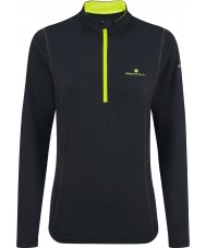 Ronhill Ladies Vizion Running Thermal Half Zip Top