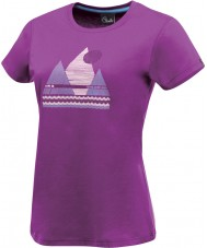 Dare2b Ladies Break Of Day Performance Purple T-Shirt