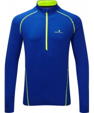 Ronhill Mens Vizion Running Thermal Half Zip Top