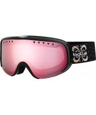 Bolle 21479 Scarlett Shiny Black Night - Vermillon Gun Ski Goggles