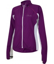 Dare2b DWL123-7JX16L Ladies Carapace Performance Purple Cycle Windshell - Size L (16)