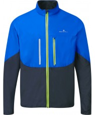 Ronhill RH-001893R424-S Mens Advance Cobalt Black Windlite Jacket - Size S