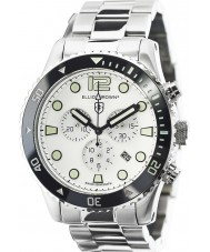 Elliot Brown 929-007-R01 Mens Bloxworth Silver Steel Chronograph Watch
