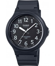 Casio MW-240-1BVEF Mens Core Oversized Black Resin Strap Watch