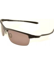 Oakley OO9174-07 Carbon Blade Matte Satin Black - Prizm Daily Polarized Sunglasses